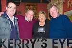 NEW YEAR: Having a good night at The Tóchar Bán, Kilmoyley on Tuesday night as the New Year approaches l-r: Paul O'Connor, Seamus,Margaret and JP McCarthy.