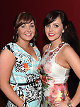 Emma Tuite and Vicki Kelly celebrating one year of business at Echo Hair Design in Brú. Photo:Colin Bell/pressphotos.ie