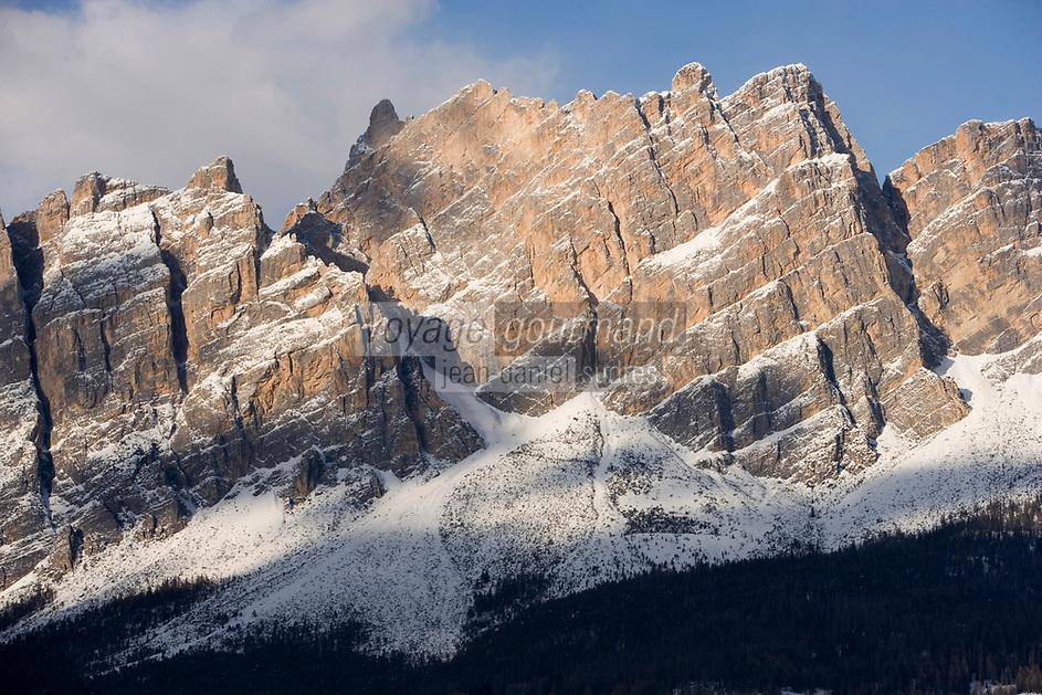 Europe/Italie/Vénétie/Dolomites/Cortina d'Ampezzo : Massif des Dolomites  Mont Pomagagnon