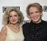 Alison Fraser and Charles Busch attends the Gingold Theatrical Group's Golden Shamrock Gala at 3 West Club on March 16, 2019 in New York City.