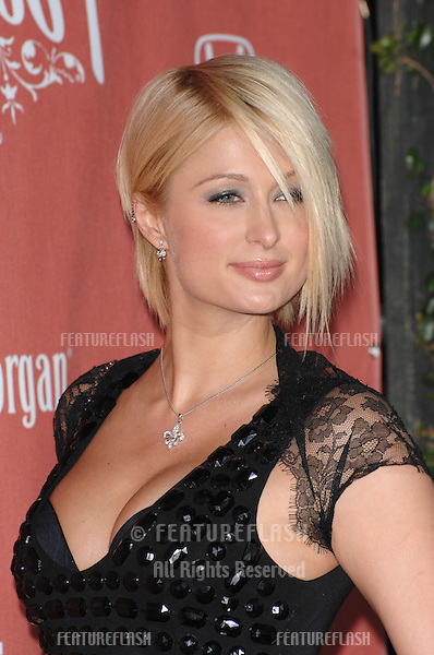 "Paris Hilton at Spike TV's ""Scream 2007"" Awards honoring the best in horror, sci-fi, fantasy & comic genres, at the Greak Theatre, Hollywood..October 20, 2007  Los Angeles, CA.Picture: Paul Smith / Featureflash"