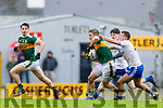 Stephen O'Brien  Kerry in action against Ryan Wylie Monaghan during the Allianz Football League Division 1 Round 5 match between Kerry and Monaghan at Fitzgerald Stadium in Killarney, on Sunday.