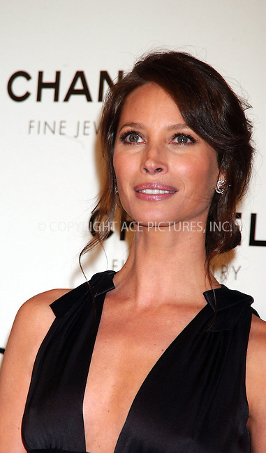 """WWW.ACEPIXS.COM . . . . . ....January 16 2008, New York City....Christie Turlington arriving at the """"Nuit de Diamants"""" party hosted by Chanel Fine Jewelry at the Plaza Grand Ballroom in Manhattan ....Please byline: KRISTIN CALLAHAN - ACEPIXS.COM..... *** ***..Ace Pictures, Inc:  ..te: (646) 769 0430..e-mail: info@acepixs.com..web: http://www.acepixs.com"""