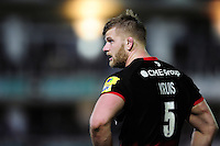 George Kruis of Saracens looks on during a break in play. Aviva Premiership match, between Bath Rugby and Saracens on April 1, 2016 at the Recreation Ground in Bath, England. Photo by: Patrick Khachfe / Onside Images
