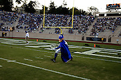 September 6, 2008. Durham, NC..  College football in the Triangle..Duke University lost a home game 20- 24 to Northwestern.. The Duke Blue Devil.