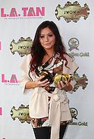 May 5, 2012: Jenni JWoww appears at L.A. Tan in Downers Grove, Illinois. Credit: Kamil Krzaczynski / Mediapunchinc