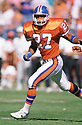 Denver Broncos Steve Atwater (27) during a game from his 1989 season  the  Denver Broncos. Steve Atwater played for 11 seasons with 2 different teams, was a 8-time Pro Bowler.(SPORTPICS)