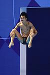 Sho Sakai (JPN), <br /> AUGUST 31, 2018 - Diving : <br /> Men's 3m Springboard Final <br /> at Gelora Bung Karno Aquatic Center <br /> during the 2018 Jakarta Palembang Asian Games <br /> in Jakarta, Indonesia. <br /> (Photo by Naoki Nishimura/AFLO SPORT)