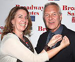 Laura Penn & Walter Bobbie attending the 'Broadway Salutes' honoring those who make Broadway Great at the Timers Square Visitors Center in Times Square,  New York City on 9/20/2012.