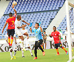 Uniautónoma y Águilas Doradas igualaron sin goles en el metropolitano Roberto Meléndez de Barranquilla, por la segunda fecha del Torneo Finalizacion 2015.