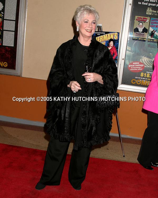 ©2005 KATHY HUTCHINS /HUTCHINS PHOTO.ETHEL MERMAN'S BROADWAY PLAY.CELEBRITY OPENING.EL PORTAL THEATER.NO HOLLYWOOD, CA.FEBRUARY 4, 2005..SHIRLEY JONES.