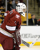 Kyle Richter (Harvard University - Calgary, AB) - The Boston College Eagles defeated the Harvard University Crimson 3-1 in the first round of the 2007 Beanpot Tournament on Monday, February 5, 2007, at the TD Banknorth Garden in Boston, Massachusetts.  The first Beanpot Tournament was played in December 1952 with the scheduling moved to the first two Mondays of February in its sixth year.  The tournament is played between Boston College, Boston University, Harvard University and Northeastern University with the first round matchups alternating each year.