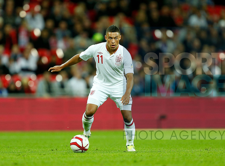 England's Alex Oxlade-Chamberlain in action..England v San Marino - FIFA World Cup Qualifier - Wembley Stadium- 12/10/12 - Picture David Klein/Sportimage