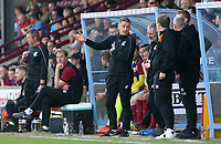 Scunthorpe United Caretaker Manager Andy Dawson <br /> <br /> Photographer David Shipman/CameraSport<br /> <br /> The EFL Sky Bet League One - Scunthorpe United v Blackpool - Friday 19th April 2019 - Glanford Park - Scunthorpe<br /> <br /> World Copyright © 2019 CameraSport. All rights reserved. 43 Linden Ave. Countesthorpe. Leicester. England. LE8 5PG - Tel: +44 (0) 116 277 4147 - admin@camerasport.com - www.camerasport.com