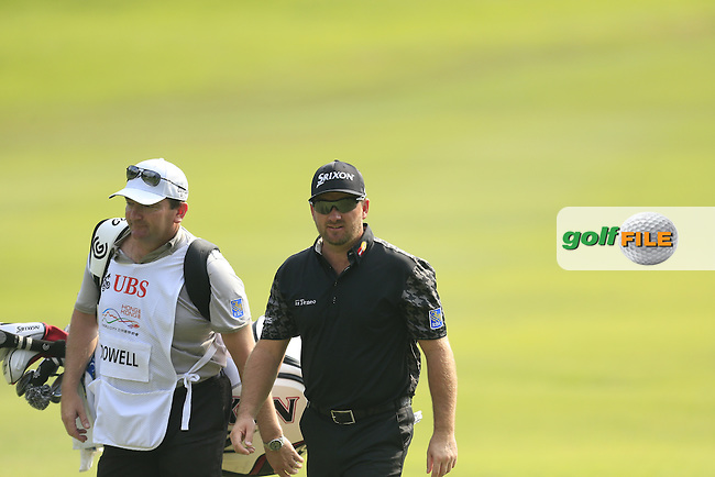 Greame McDowell (NIR) on the 17th fairway during Round 2 of the 2015 UBS Hong Kong Open at the Hong Kong Golf Club in Hong Kong on Friday 23/10/15.<br /> Picture: Thos Caffrey | Golffile