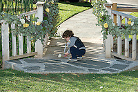 The Ring Bearer finds something left behind.