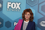 Susan Sarandon - Search for Tomorrow  - Fox Upfront - May 16, 2016 at Wollman Rink, Central Park, New York City, New York. (Photo by Sue Coflin/Max Photos)