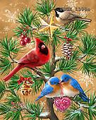 Dona Gelsinger, CHRISTMAS SYMBOLS, paintings+++++,USGE1308A,#XX# Symbole, Weihnachten, símbolos, Navidad, illustrations, pinturas