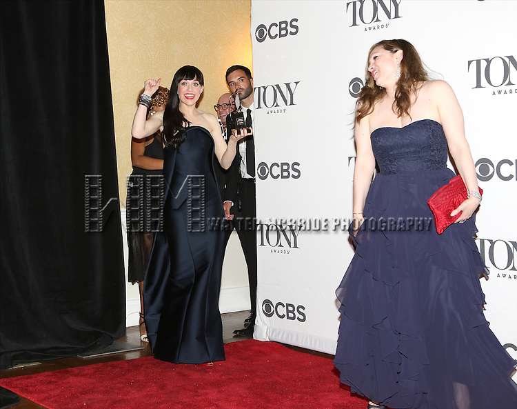 Lena Hall in the press room during the 68th Annual Tony Awards on June 8, 2014 in New York City.