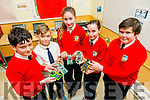 Bouleenshere National School  Ballyheigue Technology  Workshop on Friday. Pictured l-r  l-r  Tony Brown Gainey, Oisin O'Regan, Sarah Kearney, Jessica O'Grady and Peter Fitzgerald.