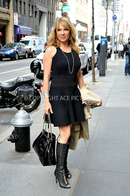 WWW.ACEPIXS.COM<br /> <br /> April 6 2015, New York City<br /> <br /> Ramona Singer made an appearance at the 'Today Show' <br /> on April 6 2015 in New York City<br /> <br /> <br /> By Line: Curtis Means/ACE Pictures<br /> <br /> <br /> ACE Pictures, Inc.<br /> tel: 646 769 0430<br /> Email: info@acepixs.com<br /> www.acepixs.com