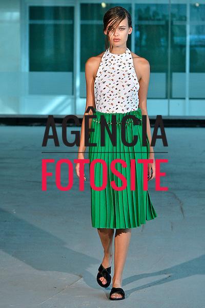 Londres, Inglaterra &sbquo;09/2014 - Desfile de Trager Delaney durante a Semana de moda de Londres  -  Verao 2015. <br /> <br /> Foto: FOTOSITE