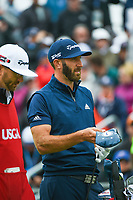 Dustin Johnson (USA) looks over his tee shot on 4 during round 4 of the 2019 US Open, Pebble Beach Golf Links, Monterrey, California, USA. 6/16/2019.<br /> Picture: Golffile | Ken Murray<br /> <br /> All photo usage must carry mandatory copyright credit (© Golffile | Ken Murray)