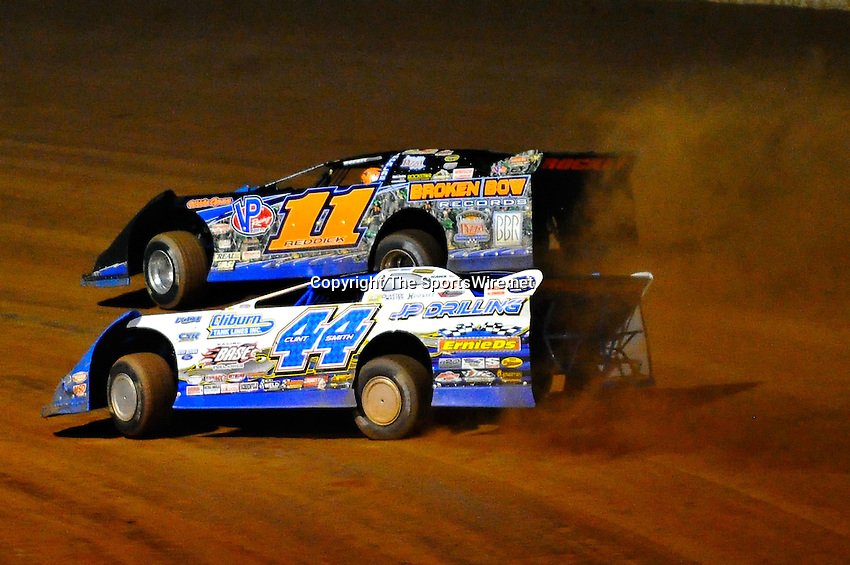 Oct 15, 2010; 9:07:26 PM;Mineral Wells,WV ., USA; The 30th Annual Dirt Track World Championship dirt late models 50,000-to-win event at the West Virginia Motor Speedway.  Mandatory Credit: (thesportswire.net)