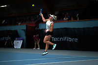 Women's doubles final between Paige Hourigan (pictured) / Vivian Yang and Holly Stewart / Sarah Weekly. 2019 Wellington Tennis Open finals at Renouf Centre in Wellington, New Zealand on Sunday, 22 December 2019. Photo: Dave Lintott / lintottphoto.co.nz