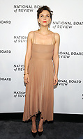 NEW YORK, NEW YORK - JANUARY 08: Maggie Gyllenhaal attends the 2019 National Board Of Review Gala at Cipriani 42nd Street on January 08, 2019 in New York City. <br /> CAP/MPI/JP<br /> &copy;JP/MPI/Capital Pictures
