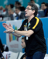 Spain's coach Valero Rivera during 23rd Men's Handball World Championship preliminary round match.January 15,2013. (ALTERPHOTOS/Acero) /NortePhoto
