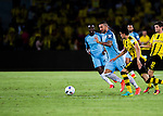 Manchester City defender Aleksandar Kolarov (c) during an attack of City against Borussia Dortmund at the 2016 International Champions Cup China match at the Shenzhen Stadium on 28 July 2016 in Shenzhen, China. Photo by Marcio Machado / Power Sport Images