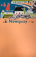 BNPS.co.uk (01202 558833)<br /> Pic: DavidLayFRICS/BNPS<br /> <br /> A peachy Newquay poster<br /> <br />  A wonderful collection of vintage British travel posters celebrating the golden age of the seaside getaway have emerged for sale for £15,000.<br /> <br /> The posters were produced by Great Western Railway and British Railways between the 1930s to the 1960s to encourage Brits to holiday on the Cornish coast.<br /> <br /> One striking Art Deco poster issued by Great Western Railway shows a lady in an orange swimsuit at Newquay with surfers in the background. <br /> <br /> It describes the popular holiday destination as 'Cornwall's first Atlantic resort'.<br /> <br /> The collection of about 30 posters has been put together by a private collector over the past two decades who is now selling them with auction house David Lay FRICS, of Penzance, Cornwall.