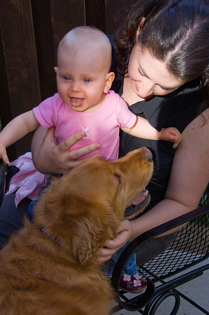 baby, girl, outside, face, expression, child, 9 months old, Estes Park, Colorado, USA