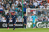 June 19th 2017, Kielce, Poland; UEFA European U-21 football championships, England versus Slovakia; Jordan Pickford (ENG), Ben Chilwell (ENG), John Swift (ENG), Nathaniel Chalobah (ENG) look dejected as they fall behind in the game