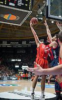 VALENCIA, SPAIN - 13/11/2016. Liga Endesa Jornada 8, Valencia Basket vs Baskonia. Pabellon Fuente de San Luis, Valencia, Spain.