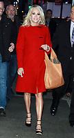 NEW YORK, NY - NOVEMBER 2: Carrie Underwood at Good Morning America promoting the CMA Awards in New York City on November 2, 2017. Credit: RW/MediaPunch /NortePhoto.com