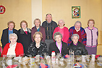 CHRISTMAS DINNER: Over 55 residents from Brosna village held their Christmas party dinner in the parish hall last Sunday afternoon. Seated l-r: Sheila Flynn, Nel Murphy, Norrie Broderick and Eily Carroll. Back l-r: Kathleen O'Sullivan, Annie and Ita Lane, Matt Dillon, Eilish Greaney, Kathleen O'Donnell and Mary O'Rourke.   Copyright Kerry's Eye 2008