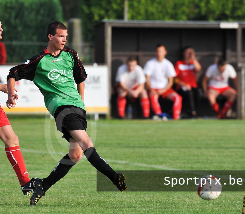 SC Beernem : Cedric Vanquathem.foto VDB / BART VANDENBROUCKE