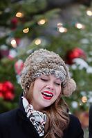 Amérique/Amérique du Nord/Canada/Québec/ Chanteurs  à Noël dans les rues de la  vieille ville classée Patrimoine Mondial de l'UNESCO,