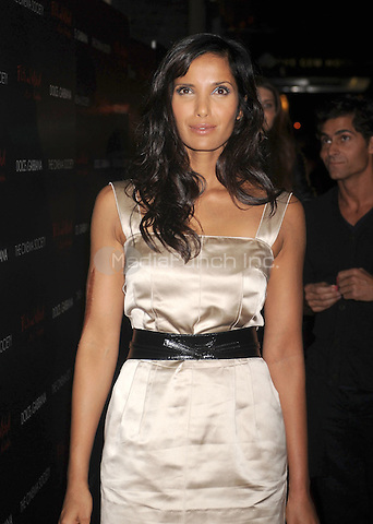 "Padma Lakshmi at the Screening of ""Filth and Wisdom"" hosted by The Cinema Society and Dolce and Gabbana. Landmark Sunshine Theatre, New York City. October 13, 2008.. Credit: Dennis Van Tine/MediaPunch"