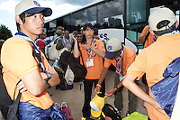 Scouts from Japan arrived to Camp in camp.