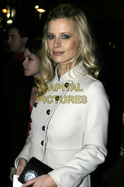 LAURA BAILEY.Mary Poppins - Gala Evening, Prince Edward Theatre, London W1.March 17th, 2005.half length black buttons.www.capitalpictures.com.sales@capitalpictures.com.© Capital Pictures.
