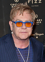 LAS VEGAS, NV - March 28: Elton John pictured arriving at FIZZ Grand Openign at Caesars Palace in Las Vegas, NV on March 28, 2014. © Kabik/ Starlitepics