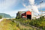 Alcan Rio Tinto smelter. Kitimat, B.C. 2017