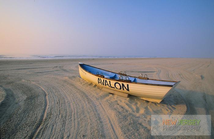 e85b33c406e Lifeguard Boat on the beach
