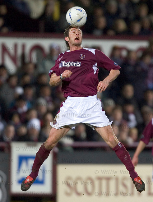 Jamie McAllister, Hearts.stock season 2004-2005.pic willie vass