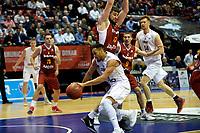 GRONINGEN - Donar - KK Bosna, Martiniplaza, Europe Cup, seizoen 2017-2018, 15-11-2017,  Donar speler Brandyn Curry is zijn tegenstander te snel af