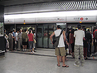 Boarding Hong Kong's Subway & MTR