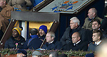Mixu Paatelainen and Michael Johnston in the directors box.